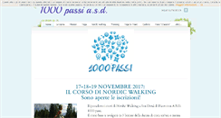Preview of 1000passi.org