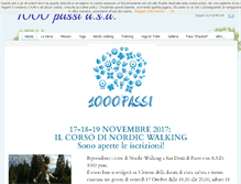 Tablet Preview of 1000passi.org